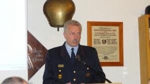 Kreisbrandmeister Bernhard Dittrich