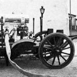 Historie 10 - Die erste Motorspritze aus dem Jahre 1936