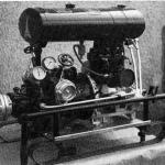 Historie 12 - Die 2. Motorspritze aus dem Jahre 1946 gestiftet von der Fa. Balluff