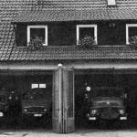 Historie 18 - Das neue Feuerwehrheim hinter dem Rathaus am 11. Oktober 1969
