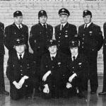Der Feuerwehrausschuss von 1978 hinten: Walter Schaller, Friedrich Ernst, Helmut Fay, Alfred Lang, Helmut Mayer, Helmut Ernst vorne: Berthold Pscheidt, Martin Bayer, Werner Bayer