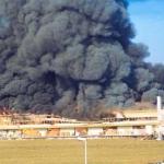 Historie 22 - Großbrand der Lagerhalle der Fa. Bucher