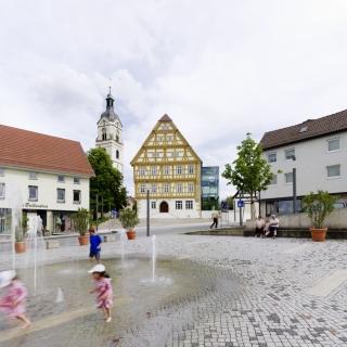 Schlossplatz Neuhausen