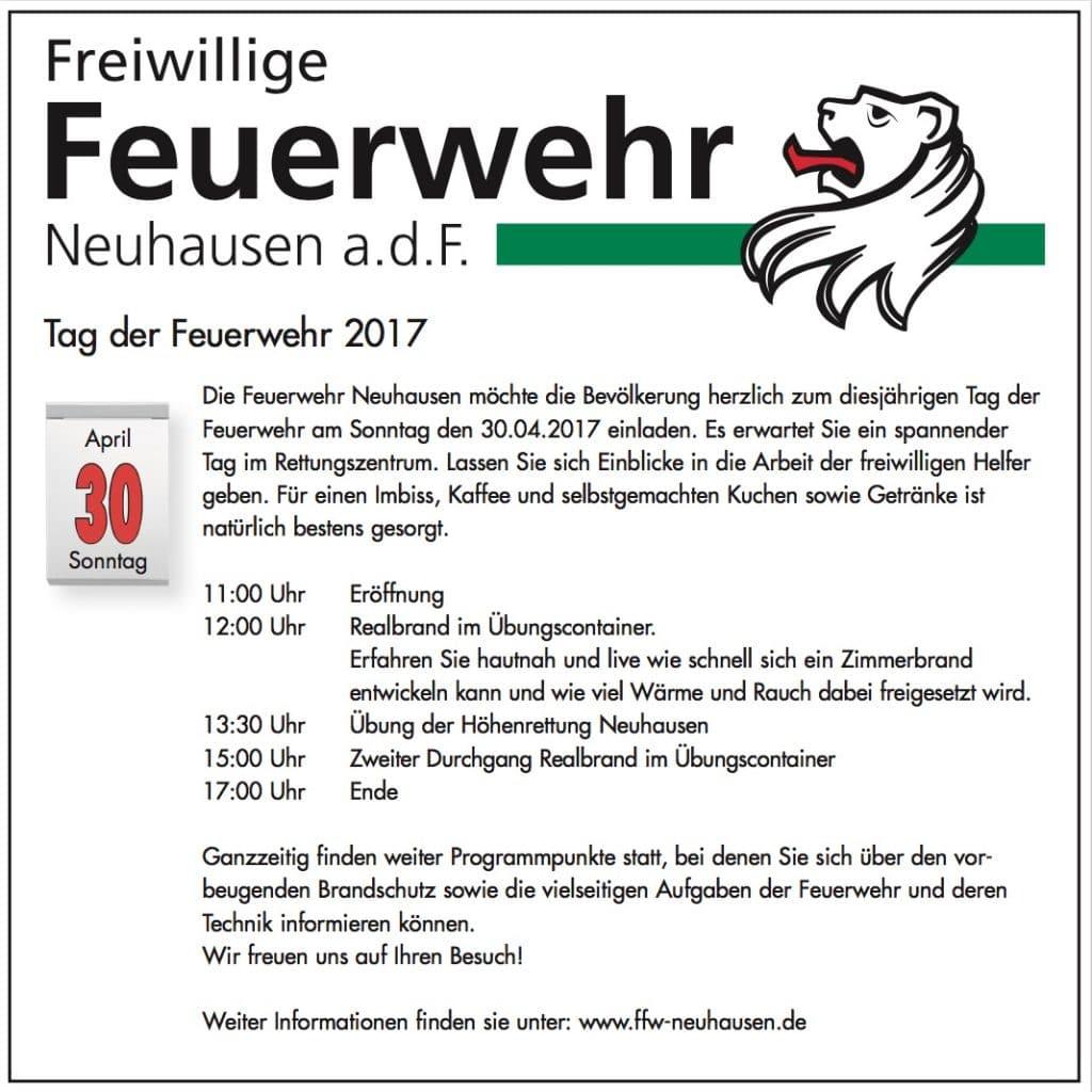 aktuelles – freiwillige feuerwehr neuhausen, Einladung